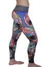 Tropical Skulls Legging