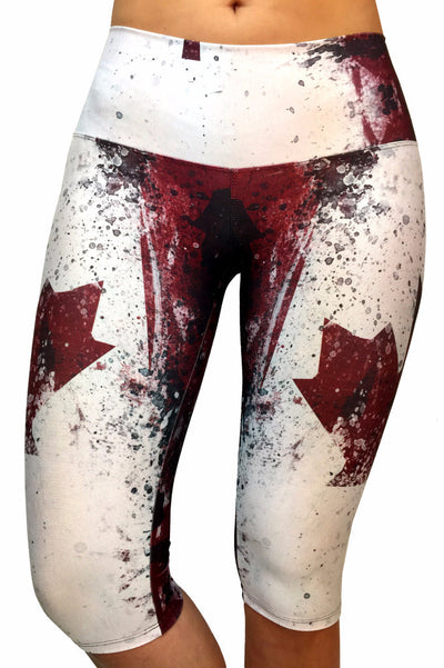 Wonderland Canadian Compression Capri