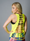 Yellow Rib-Cut Tank