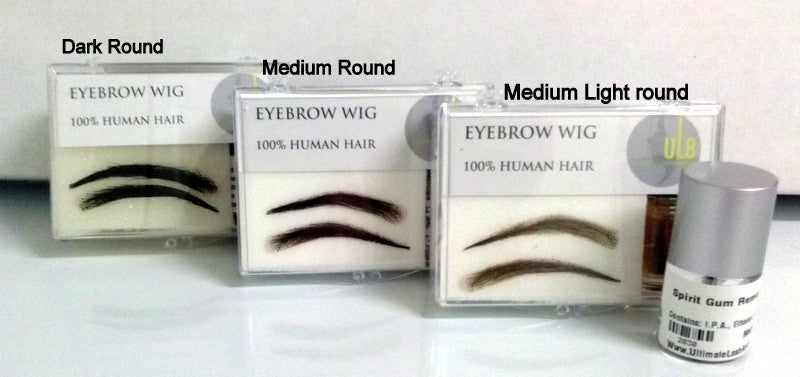 Human Hair Eyebrow Wig- Lady  Round