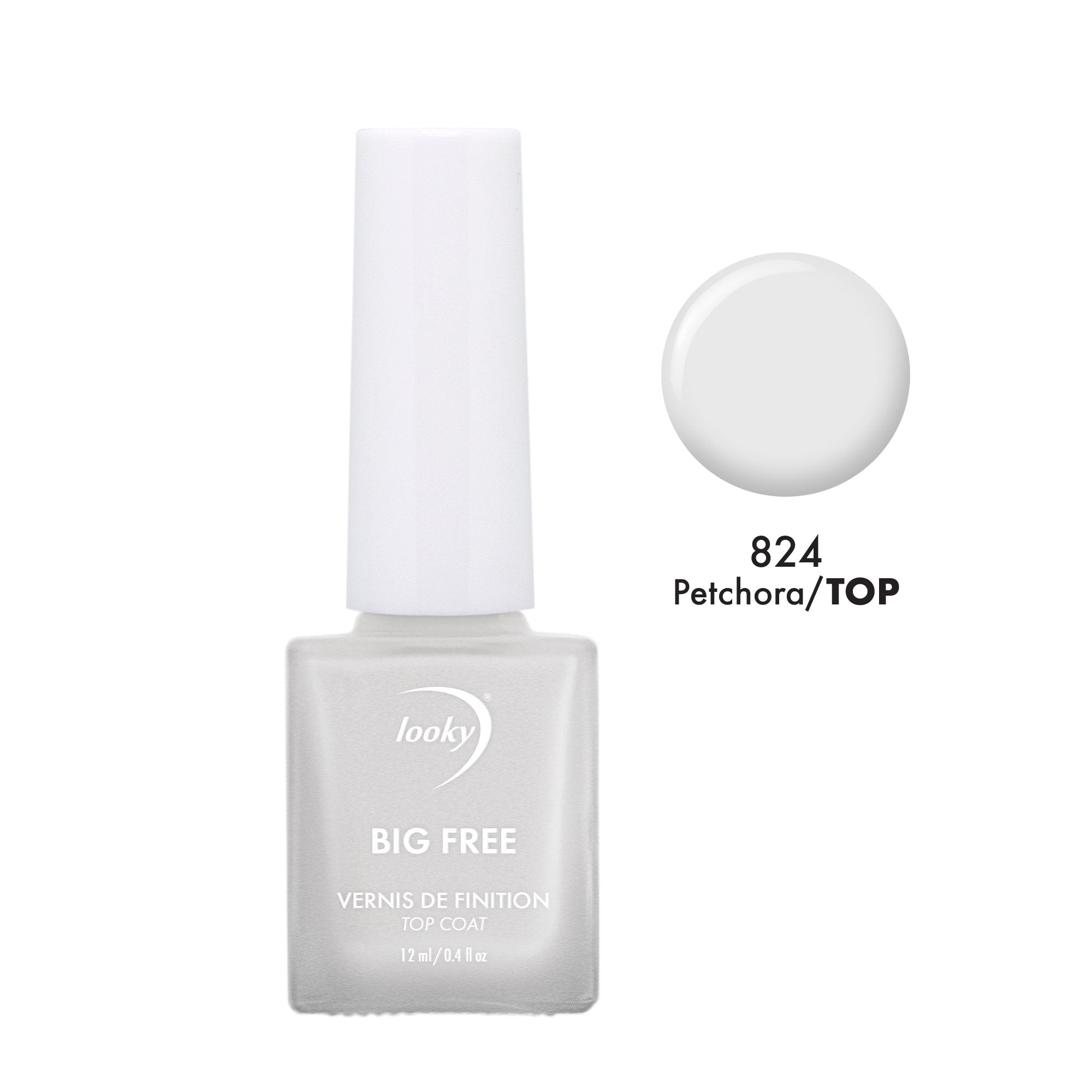 Vernis Big Free #824 Petchora Top Coat
