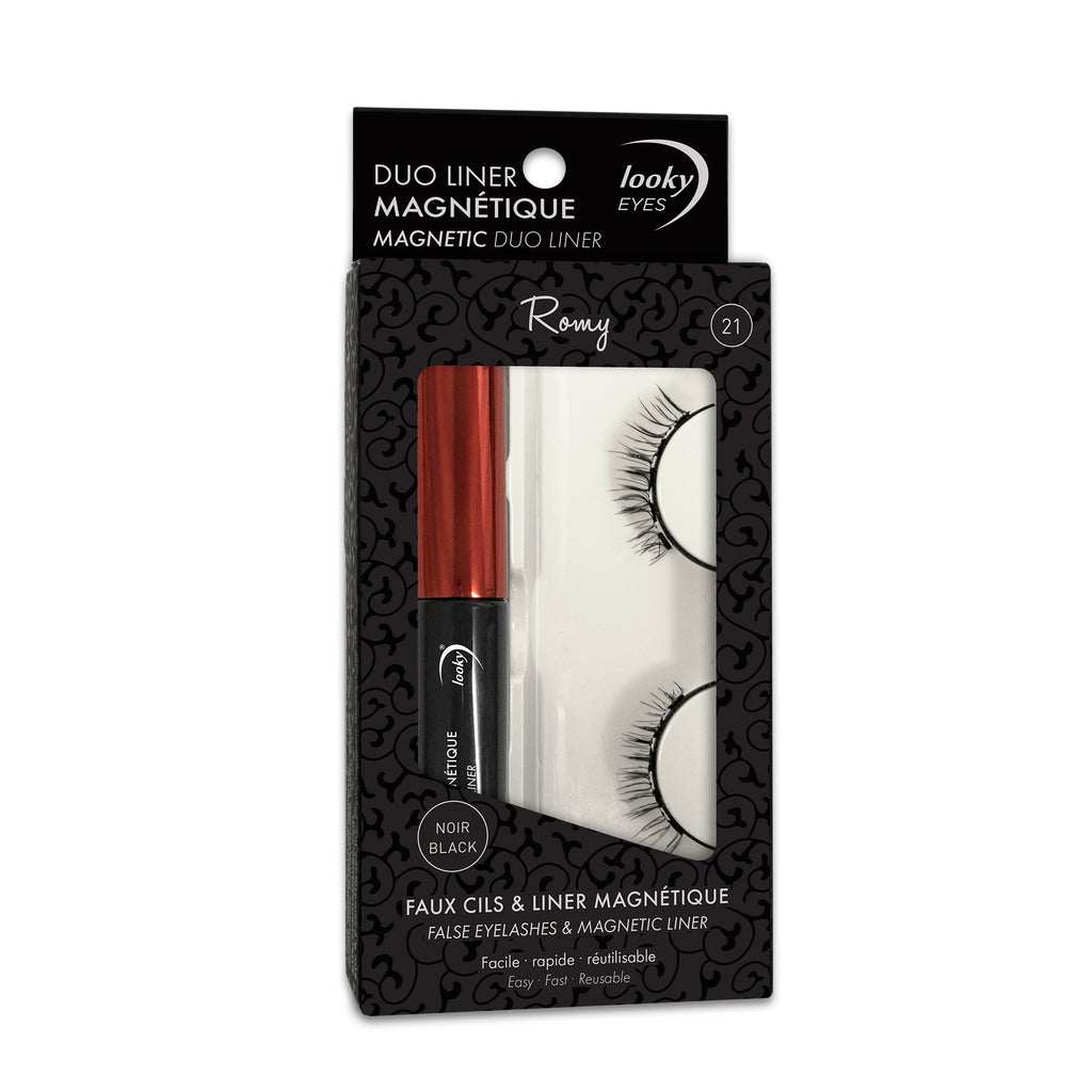 Faux cils magnétiques DUOLINER Looky