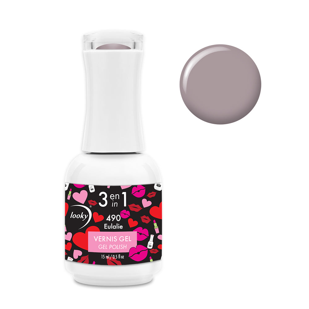 Vernis Gel 3 en 1 #490 Eulalie (Collection Love)