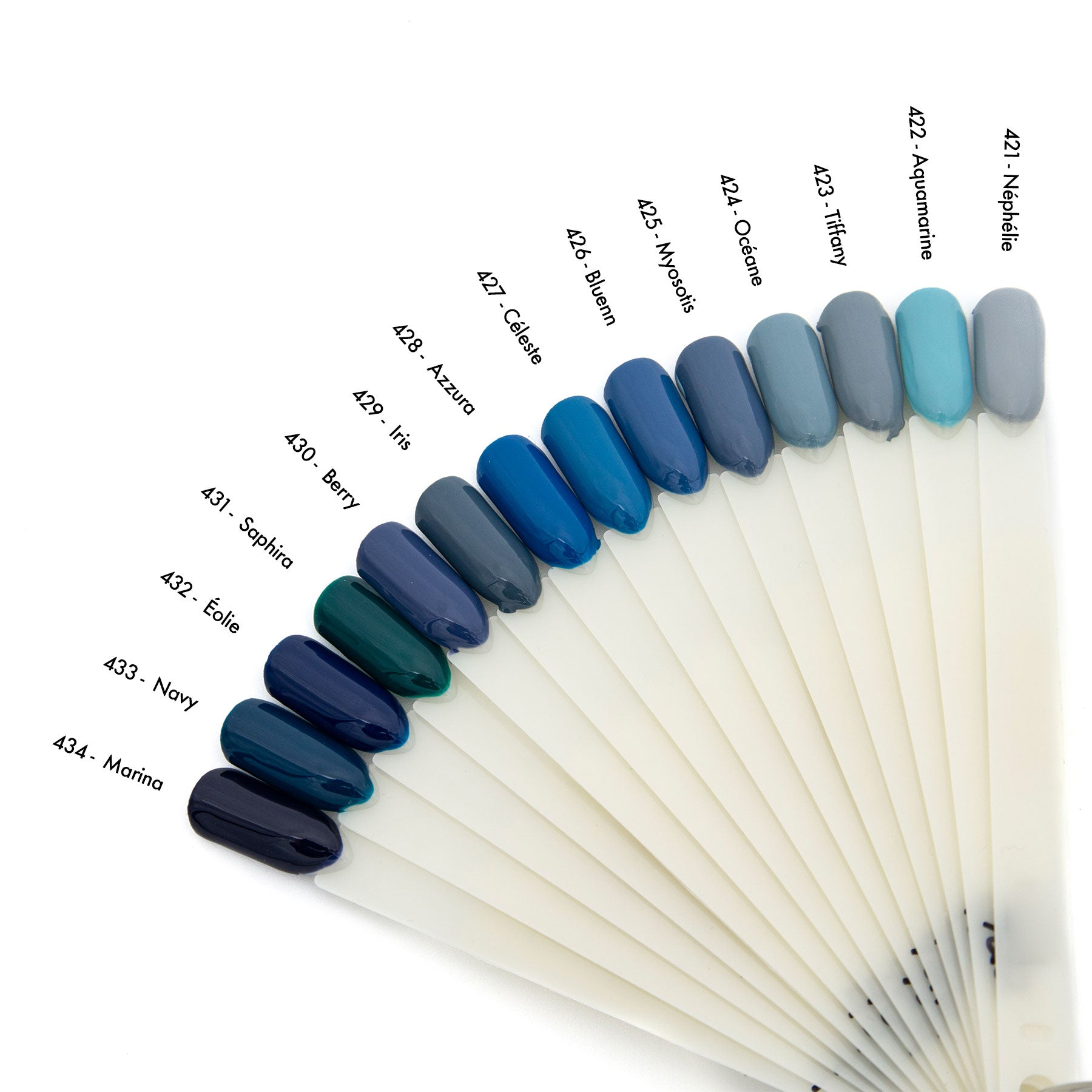 Vernis 3 en 1 Collection Marine </br> #431 Saphira