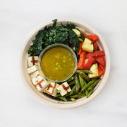 Grilled Vegetable Kale Bowl