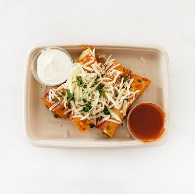 Sweet Potato & Spinach Enchiladas