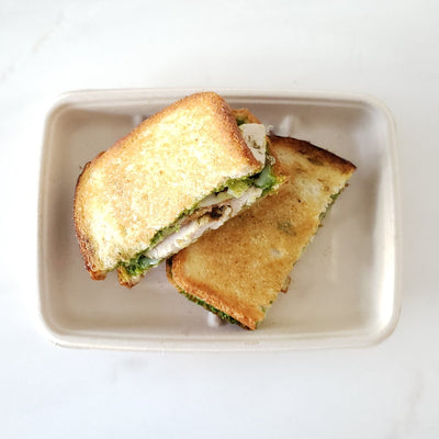 Chicken Bacon Pesto Panini