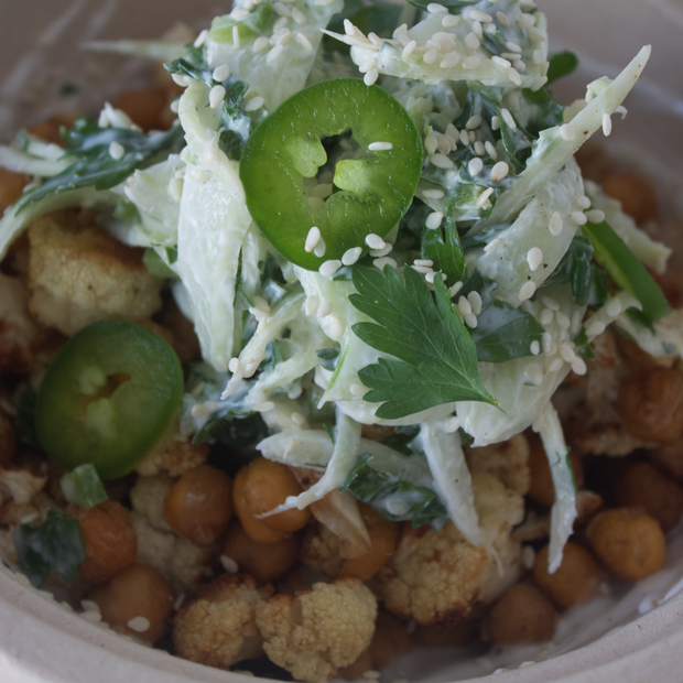 Chickpea Cauliflower Bowl
