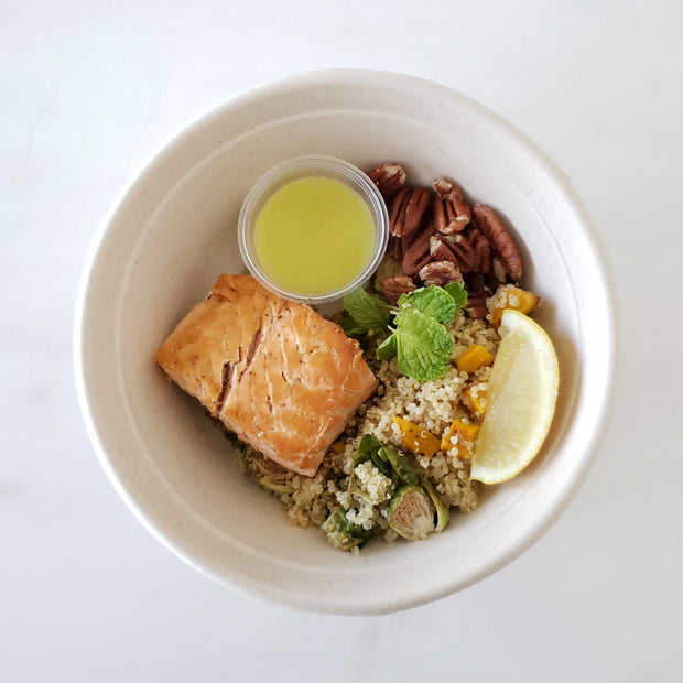 Fall Seared Salmon Bowl