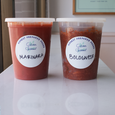 Housemade Pasta Sauces