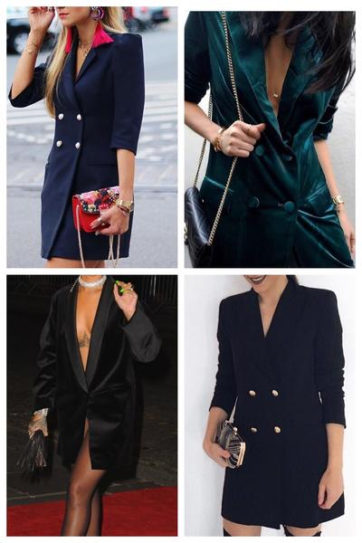 Blazer Dress Trend - Marbecs Boutique