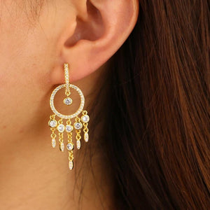 Chandelier earrings - Marbecs Boutique