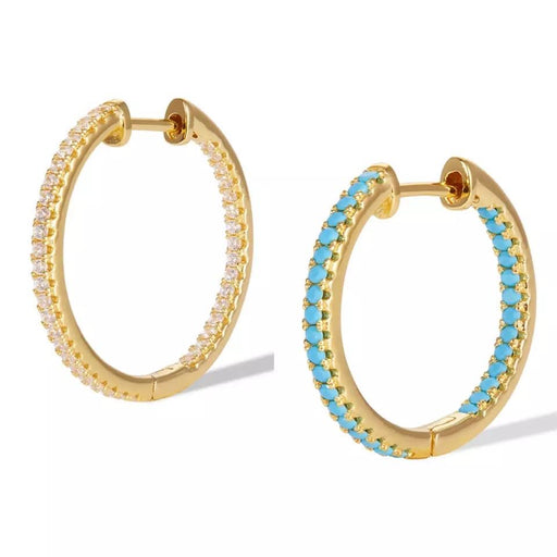 Huggie hoop earrings - Marbecs Boutique