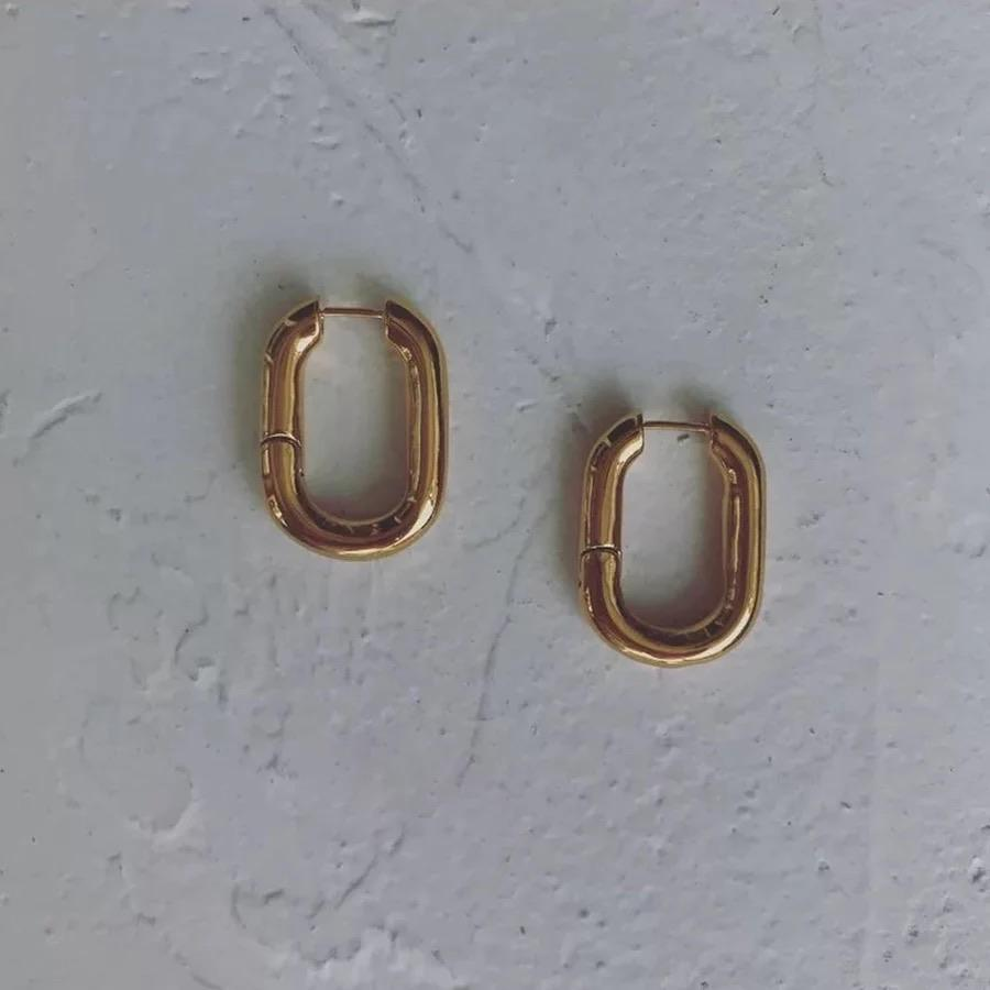 Olga Oval hoops - Marbecs Boutique