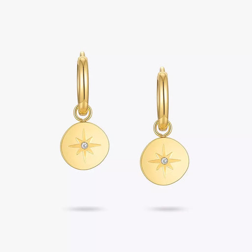Dainty B earrings