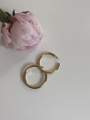 Lexi hoop earrings - Marbecs Boutique