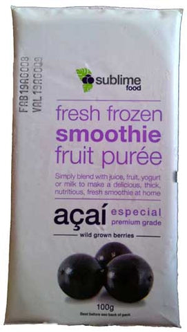 Frozen Acai Pulp Whole Foods