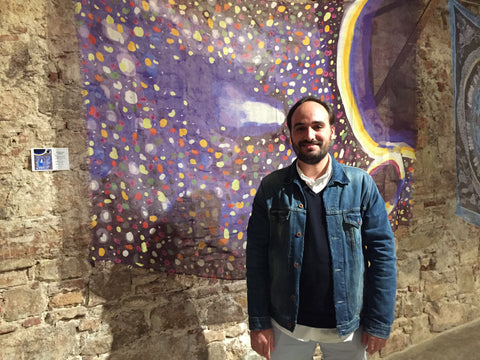 Ignasi Miralbell Riera, inspiring artist of the cashmere scarf Planets by Mirror in the Sky