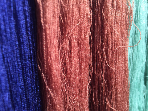 Cashmere yarn fibres by Mirror in the Sky