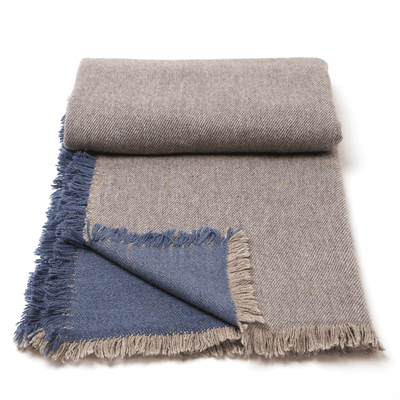 Banff Baby Yak and Cashmere Blanket