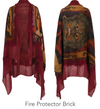 Tibetan Collection Cashmere and Silk Shawl