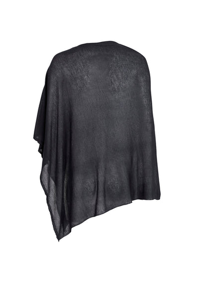 Lightweight Cashmere Square Poncho