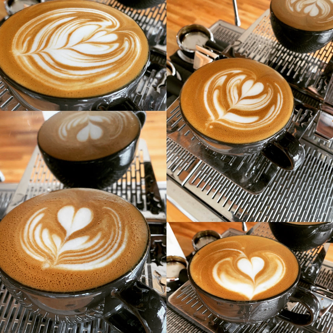 Friday Night Latte Art Practice