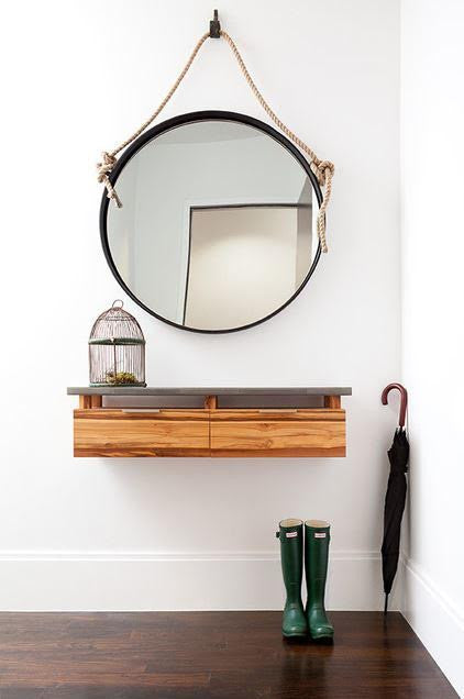 ideas for chic entryways