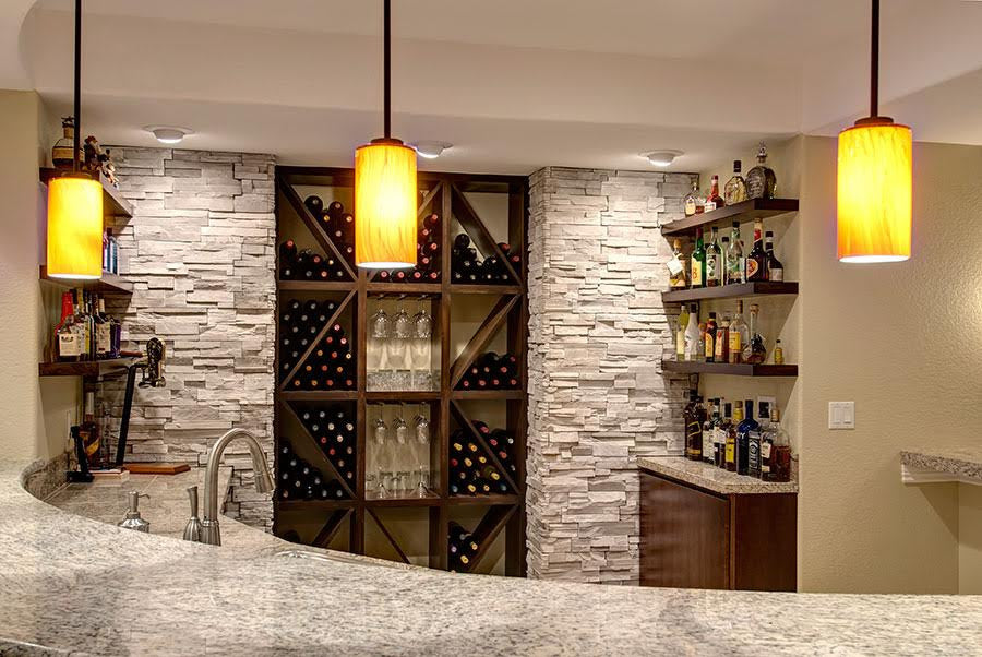 TOP 2017 TRENDS IN BASEMENT WET BAR DESIGN