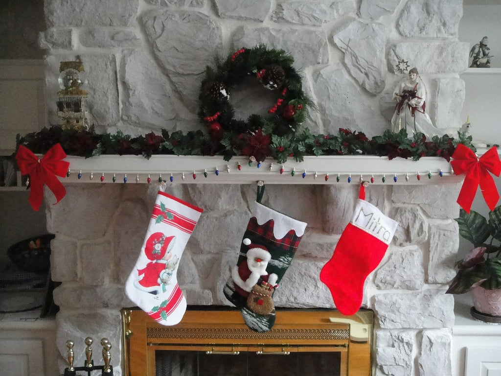 The Stockings were Hung from the Floating Mantel with Care…