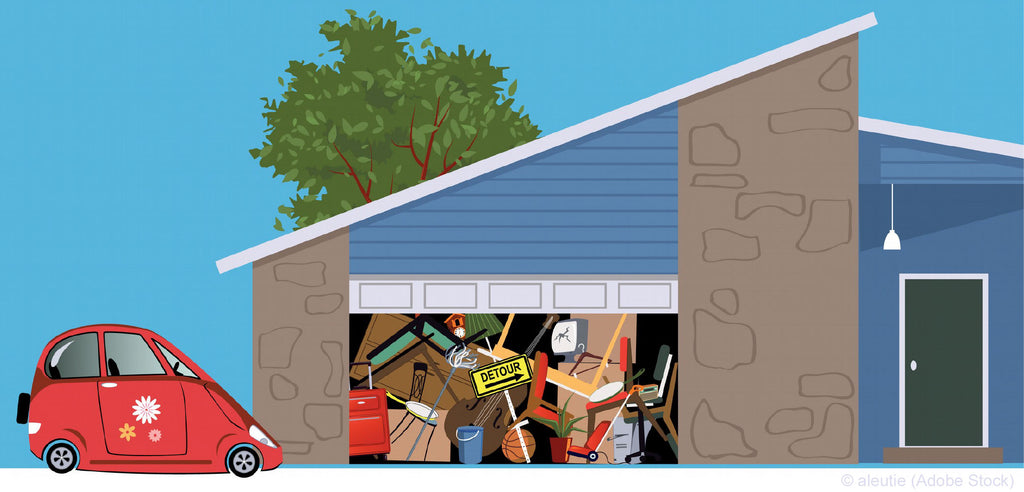 Get Your Parking Spot Back with These Garage Organizing Tips