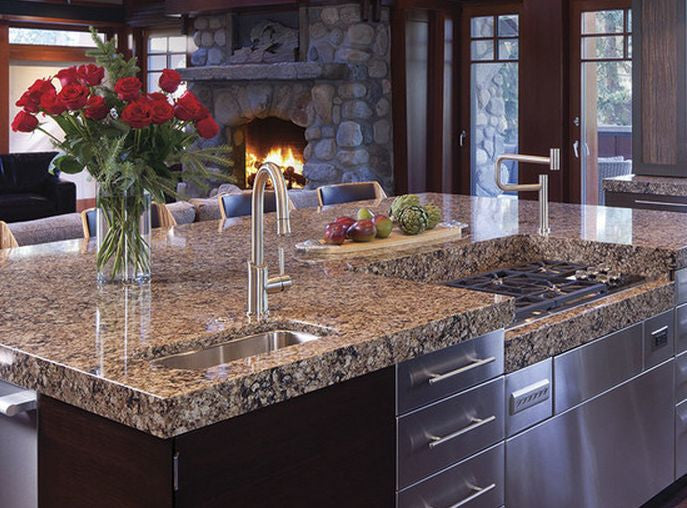 Types of Kitchen Countertops – The Original Granite Bracket