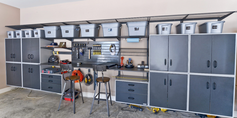 cabinets in garage from Houzz