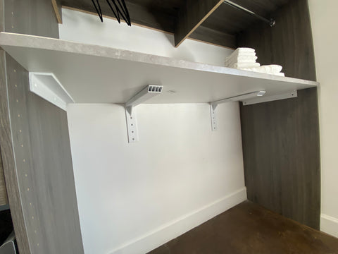 laundry room support brackets