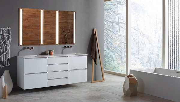 Wall Hung Modular Vanity by Robern
