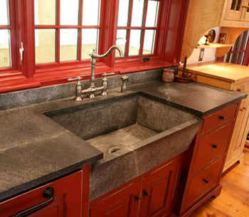 Beau Soapstone Coutnertop The Best Types Of Stone Countertops