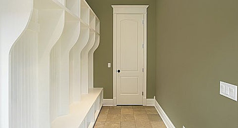 The rainy days of summer... can have your house in need of a Mudroom