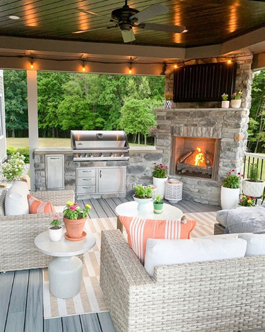 outdoor seating outdoor living space