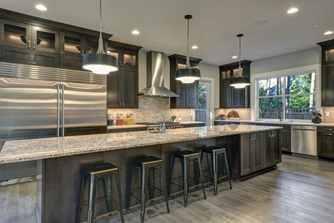 How to hold up stone countertops