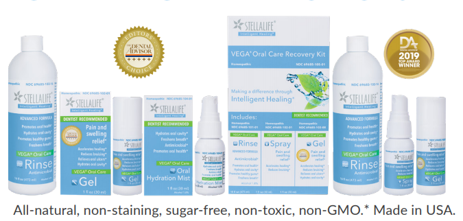 StellaLife Inc. launches VEGA Oral Care system of homeopathic oral healing products