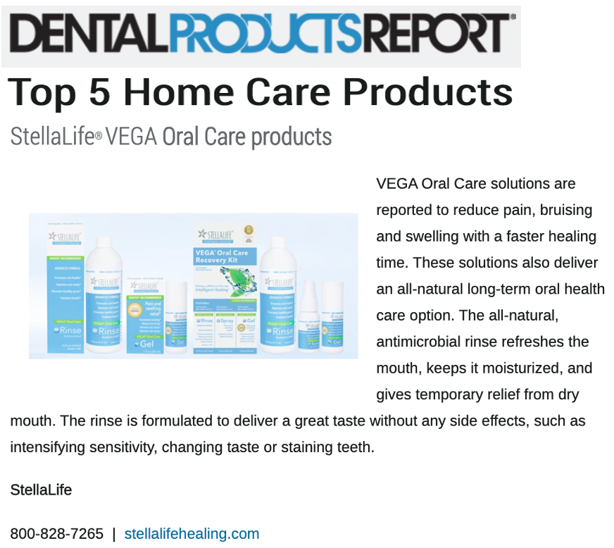 StellaLife's Rinse is one of the top 5 home care products of the year