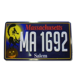 License Plate Magnet, Old Edition