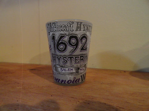 Hysteria 1692 Shot Glass
