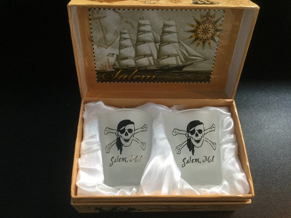 Shot Glass Boxed set of two
