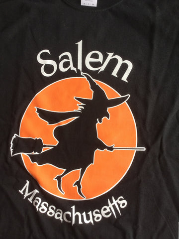Salem witch with moon