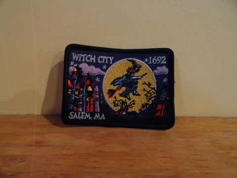 Salem Mass Witch City Patch