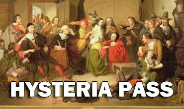 Hysteria Pass - Weekends Only January & February