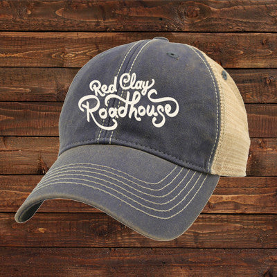 Red Clay Roadhouse Trucker Hat - Blue