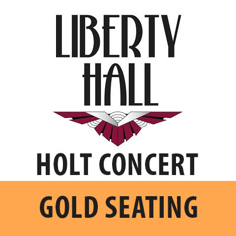 Edwin Holt • June 10th • Gold Seating