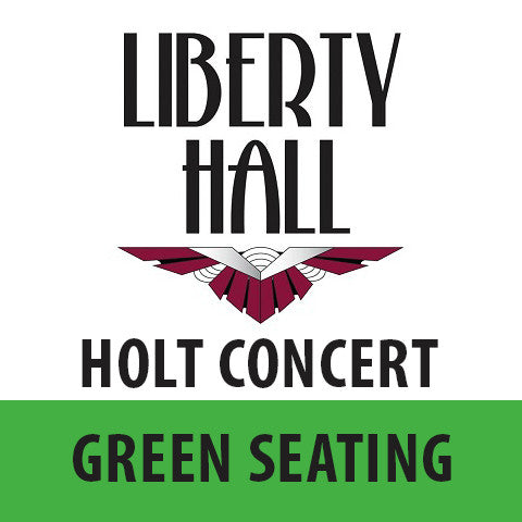 Edwin Holt • June 10th • Green Seating